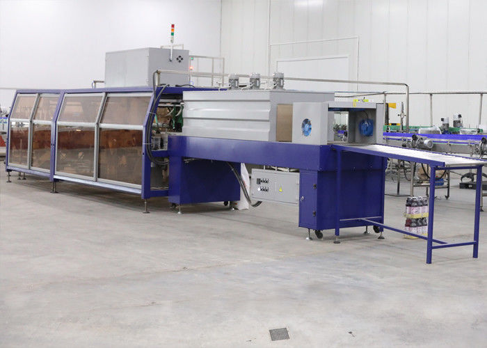 Beverage Automatic Stretch Film Wrapping Machinery With High Capacity