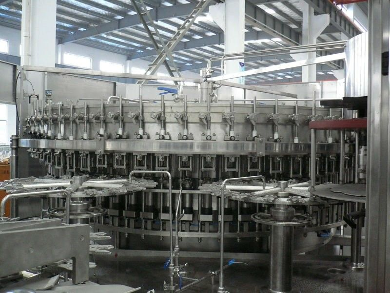 Automatic 3-in-1 Carbonated Filling Machine Drinking Production Line