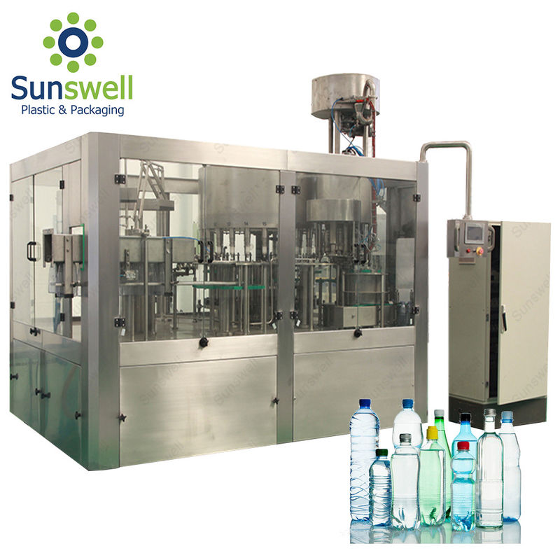 Electric Driven Type Water Bottling Machine For Mineral Water Plant Project