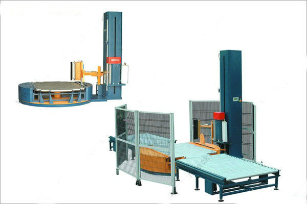 Automatic pallet stretch wrappers shrink packaging equipment for industries Liquid food